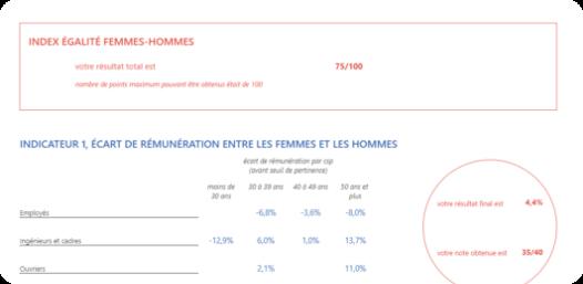 Index d'égalité femmes-hommes