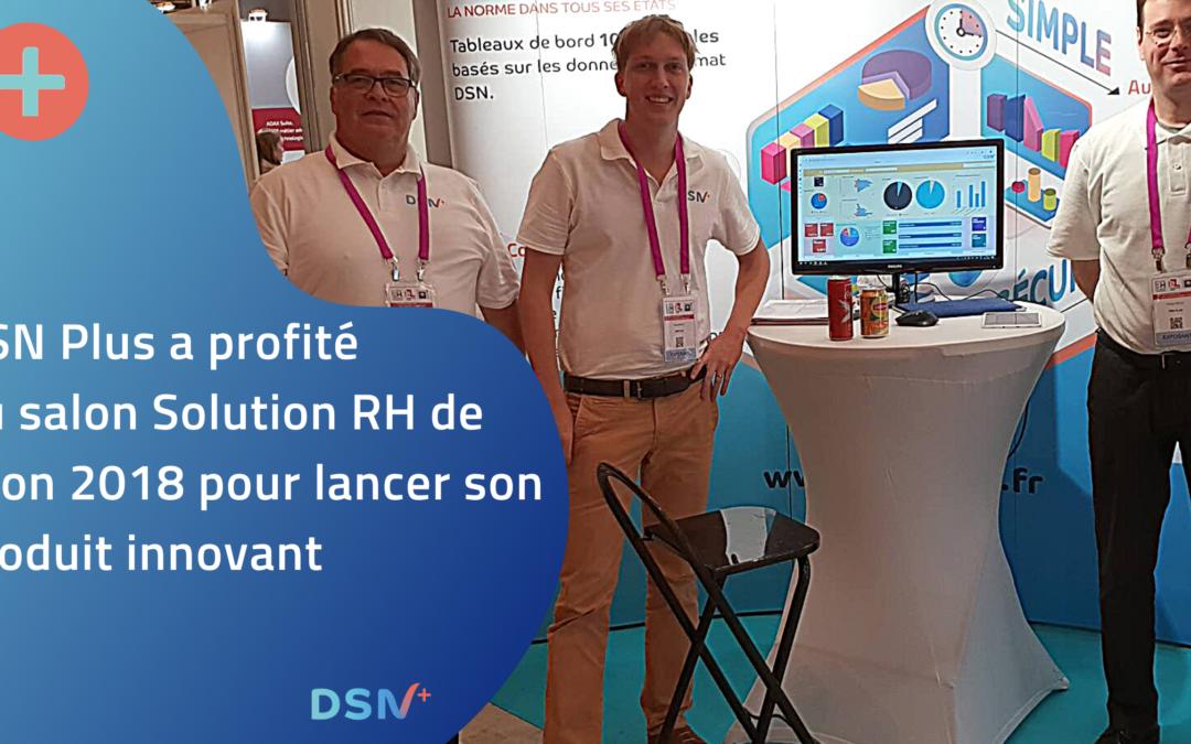 Lancement du produit DSN Plus au salon SIRH Lyon 2018